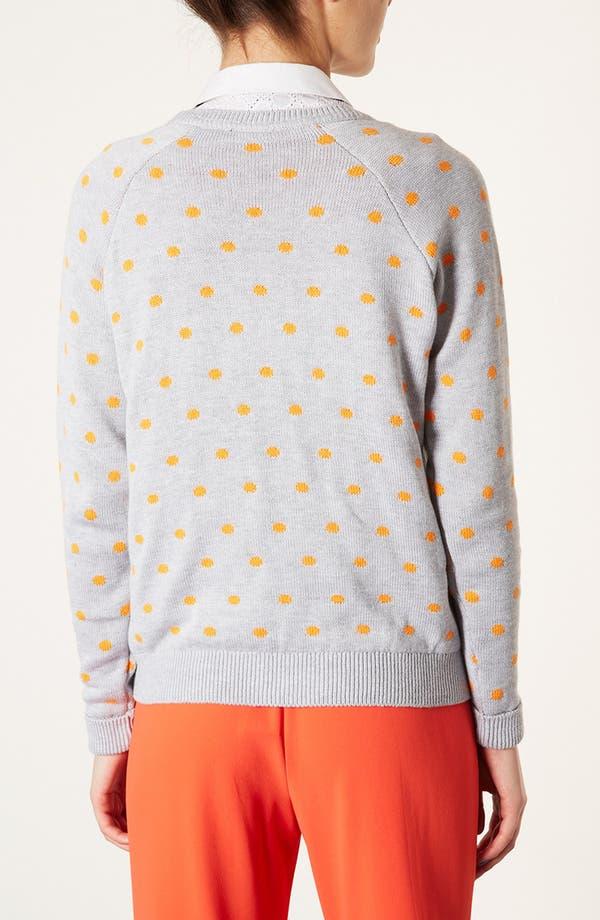 Alternate Image 2  - Topshop Panther Motif Sweater
