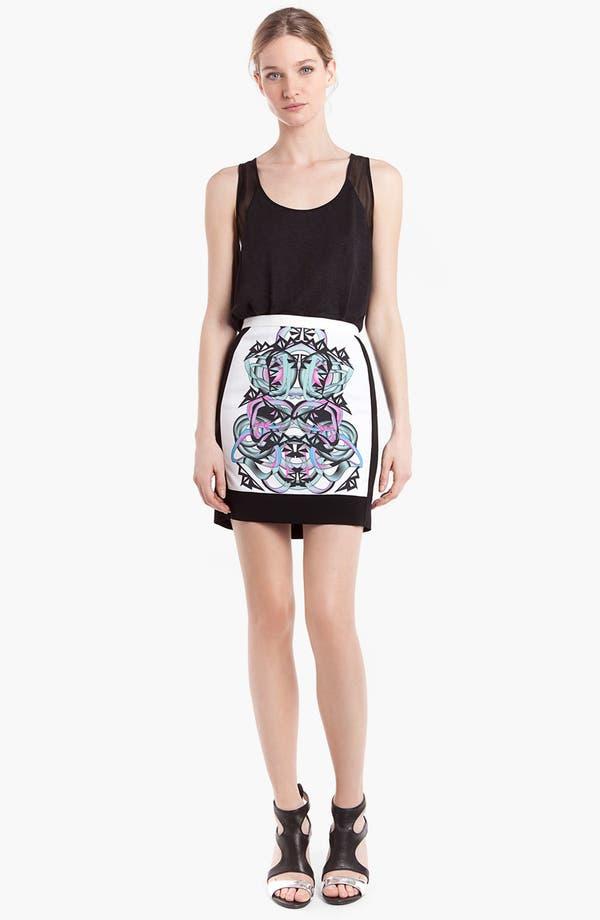 Main Image - sandro 'Java' Graphic Skirt