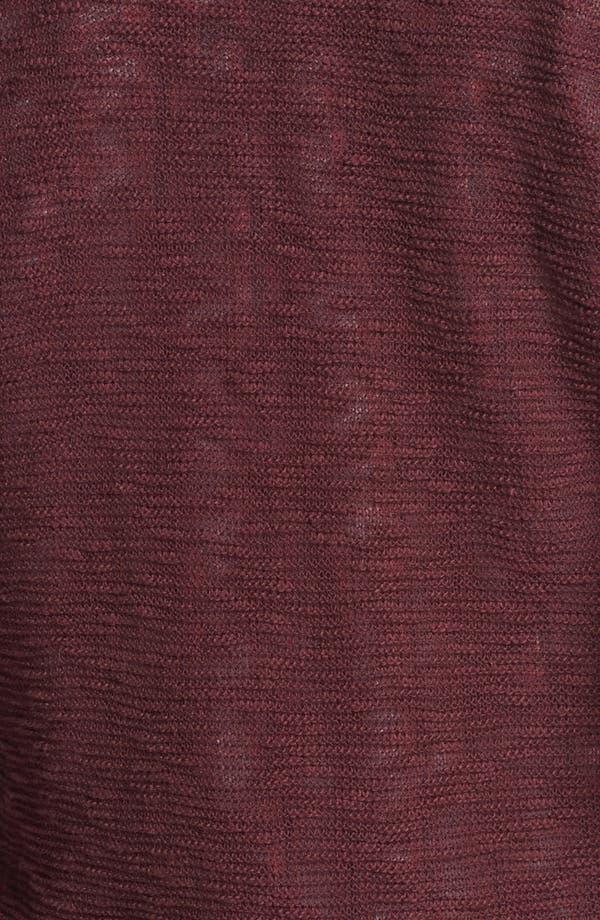 Alternate Image 3  - Rubbish® Slub V-Neck Sweater (Juniors)