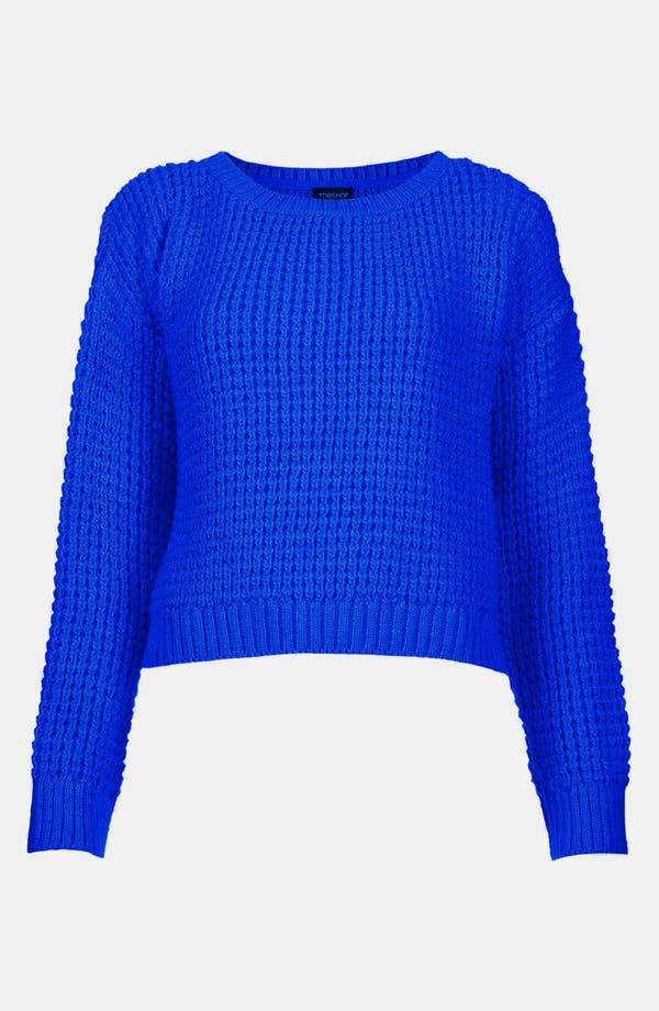 Main Image - Topshop Crop Sweater