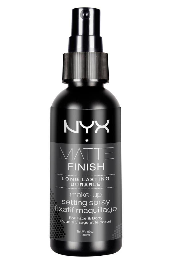 Alternate Image 1 Selected - NYX 'Matte Finish' Makeup Setting Spray