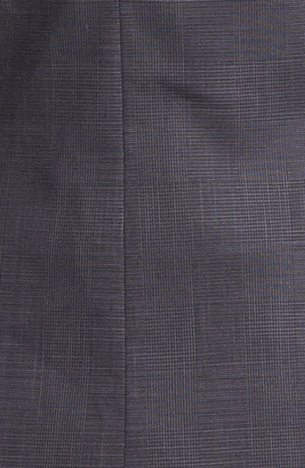 Alternate Image 5  - Halogen® Etched Plaid Suit Jacket