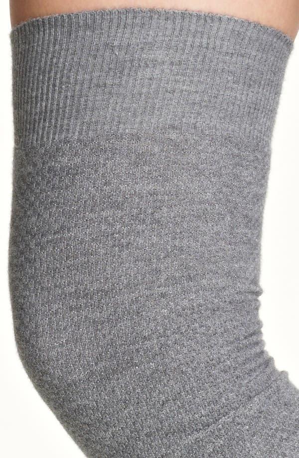 Alternate Image 2  - Fabiana Filippi Thigh High Waffle Knit Tights