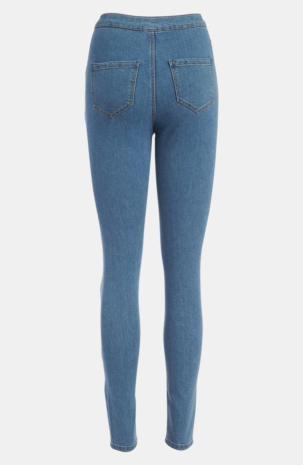 Alternate Image 2  - Topshop Moto 'Joni Disco' High Waisted Jeans