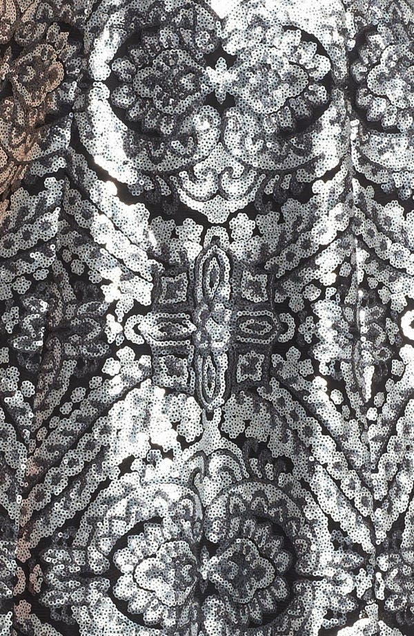 Alternate Image 3  - Adrianna Papell Racerback Sequin Dress