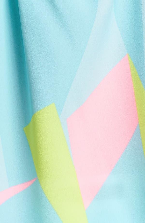 Alternate Image 3  - Lush Crossed Strap Print Camisole (Juniors)