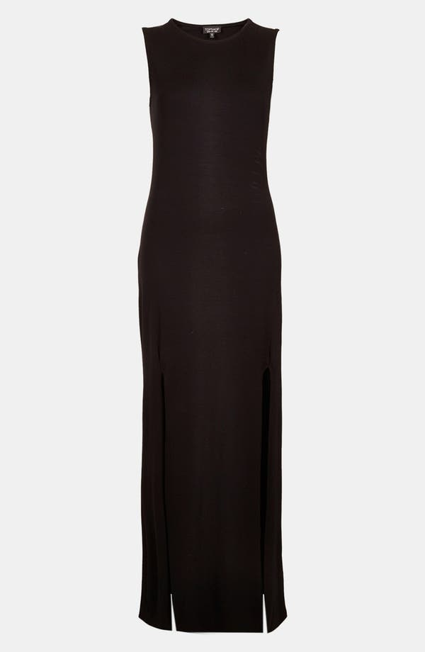 Alternate Image 3  - Topshop Double Split Maxi Dress