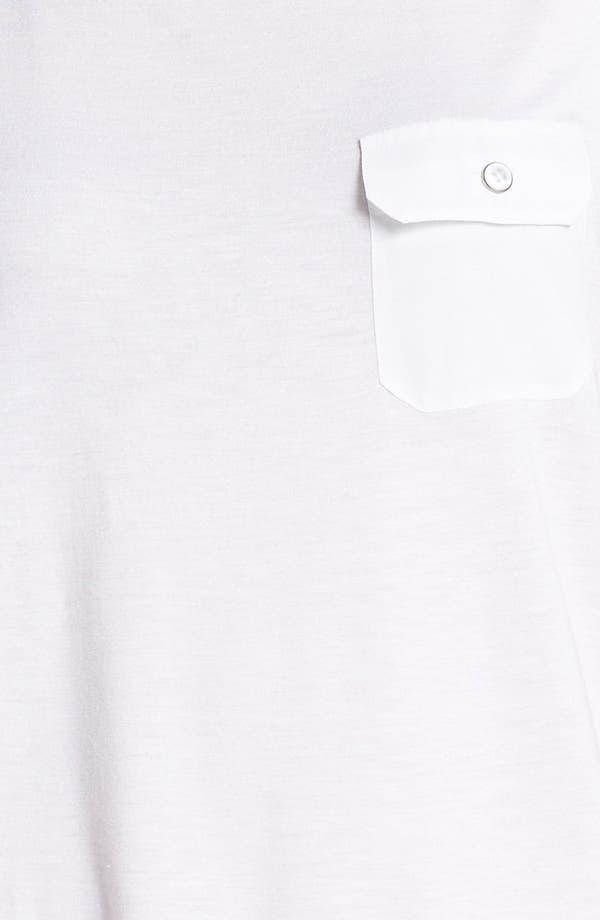 Alternate Image 3  - Trouvé Sheer Back Tie Top