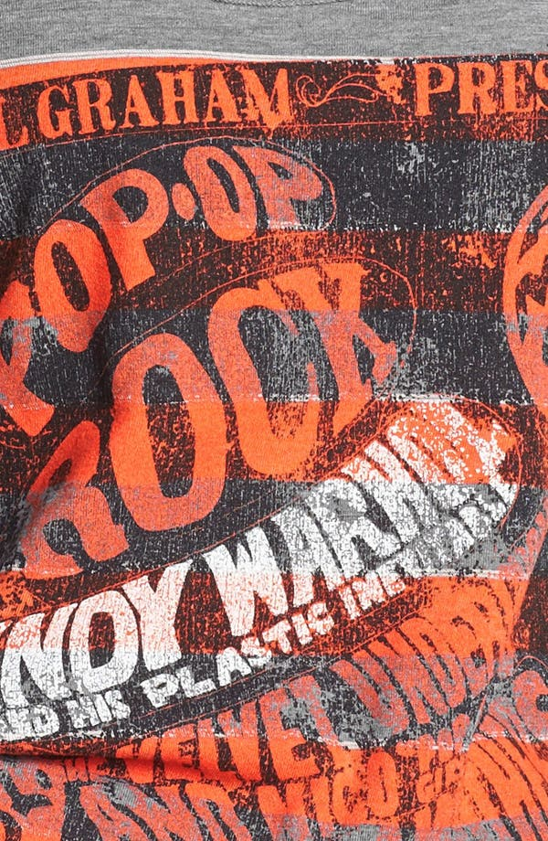 Alternate Image 3  - Retro Brand 'Andy Warhol' Stripe Racerback Tank (Juniors) (Online Only)