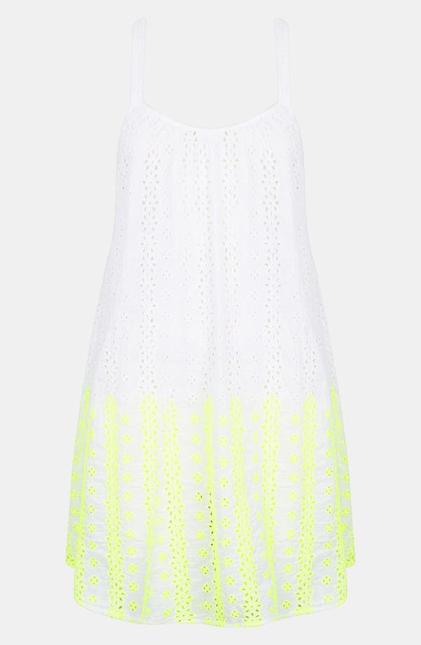 Alternate Image 3  - Topshop Broderie Cover-Up