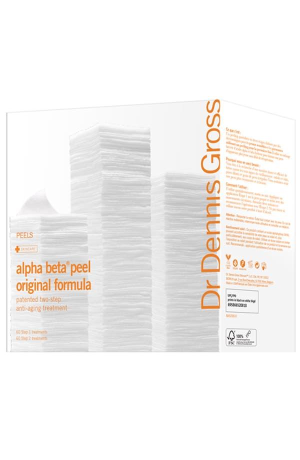 Main Image - Dr. Dennis Gross Skincare Alpha Beta® Peel Original Formula - 60 Applications