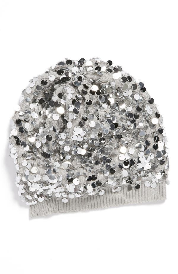 Alternate Image 1 Selected - Accessory Collective Sequin Beanie (Girls)