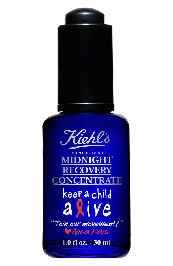 Main Image - Alicia Keys for Kiehl's Since 1851 Midnight Recovery Concentrate Elixir (Limited Edition)