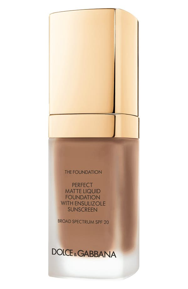 Main Image - Dolce&Gabbana Beauty Perfect Matte Liquid Foundation