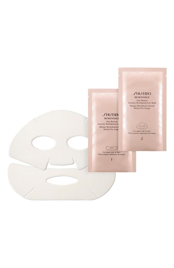 Main Image - Shiseido 'Benefiance' Pure Retinol Intensive Revitalizing Face Mask