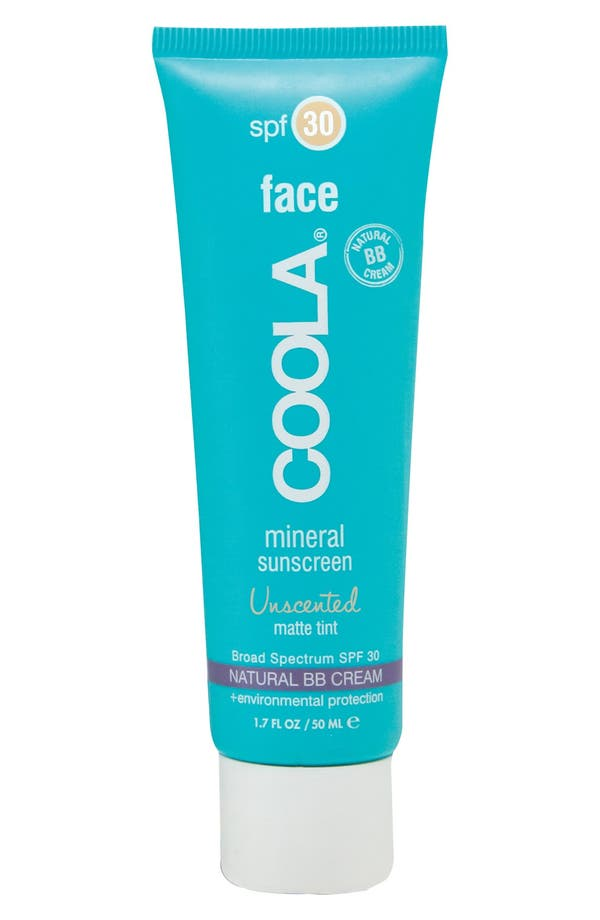 Alternate Image 1 Selected - COOLA® Suncare Face Mineral Sunscreen Unscented Matte Tint Broad Spectrum SPF 30
