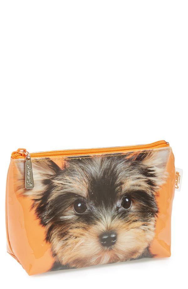 Alternate Image 1 Selected - Catseye London 'Yorkie' Cosmetics Case