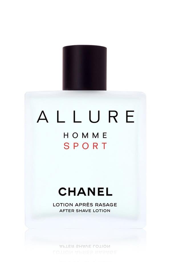 Alternate Image 1 Selected - CHANEL ALLURE HOMME SPORT  After Shave Lotion
