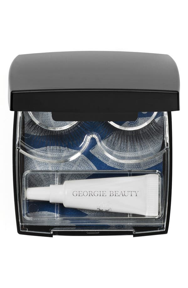 Alternate Image 1 Selected - Georgie Beauty™ 'La Starlette' Faux Lash Compact