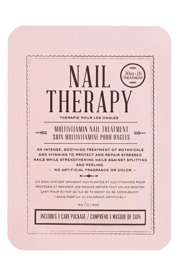 Nail Therapy Multivitamin Nail Treatment,                             Main thumbnail 1, color,                             No Color