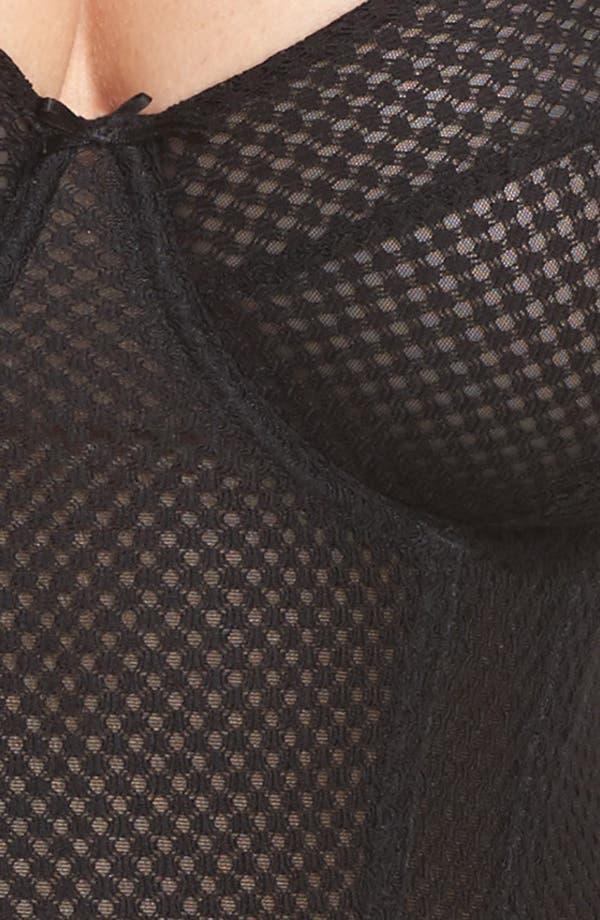Alternate Image 5  - Playful Promises Carlota Curve Underwire Basque Corset (Plus Size)