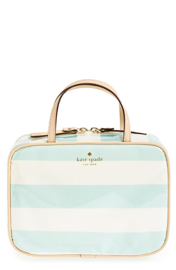 Alternate Image 1 Selected - kate spade new york 'java place - manuela' cosmetics case