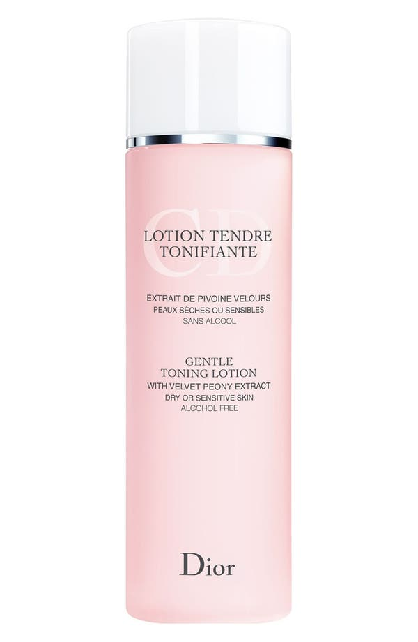 Alternate Image 1 Selected - Dior Gentle Toning Lotion for Dry or Sensitive Skin