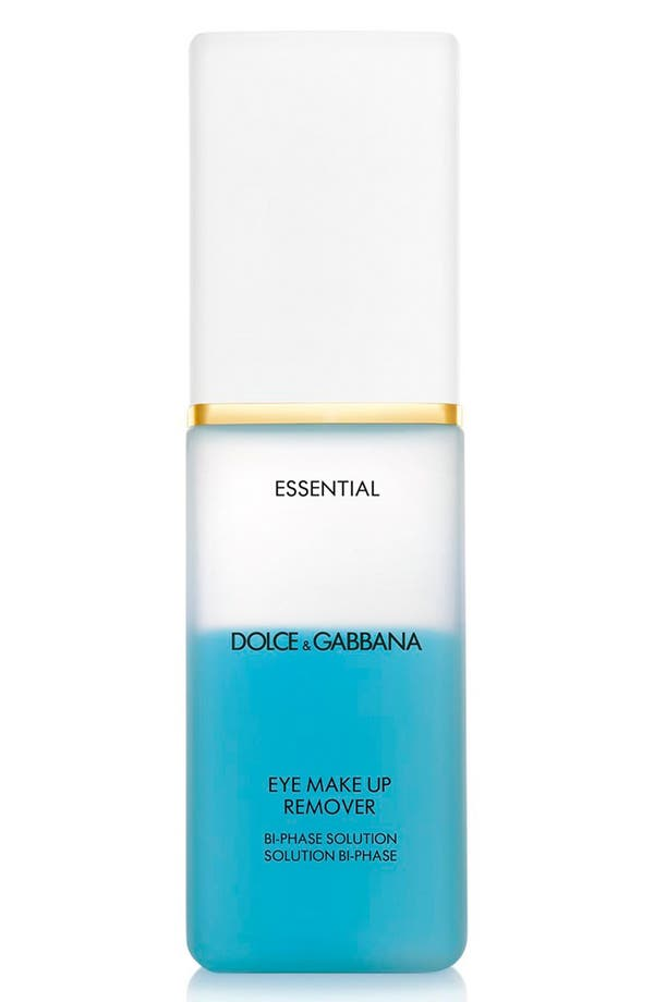 Dolce&GabbanaBeauty 'Essential' Eye Makeup Remover,                         Main,                         color, No Color