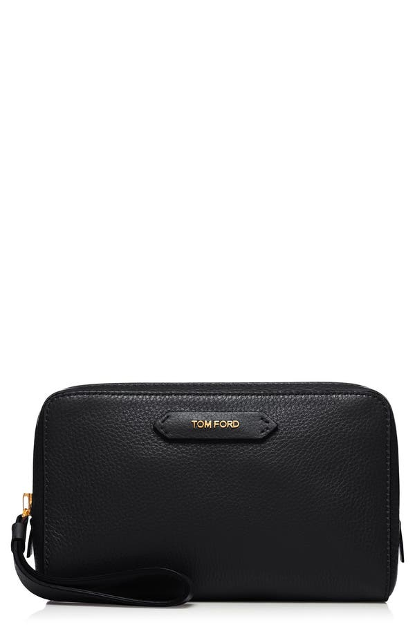 Alternate Image 1 Selected - Tom Ford Medium Leather Cosmetics Case