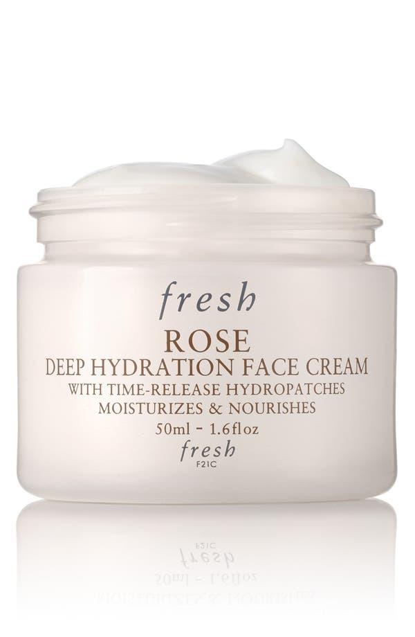 Rose Deep Hydration Face Cream,                             Main thumbnail 1, color,                             No Color