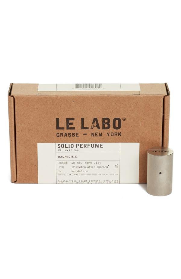 Alternate Image 2  - Le Labo 'Bergamote 22' Solid Perfume