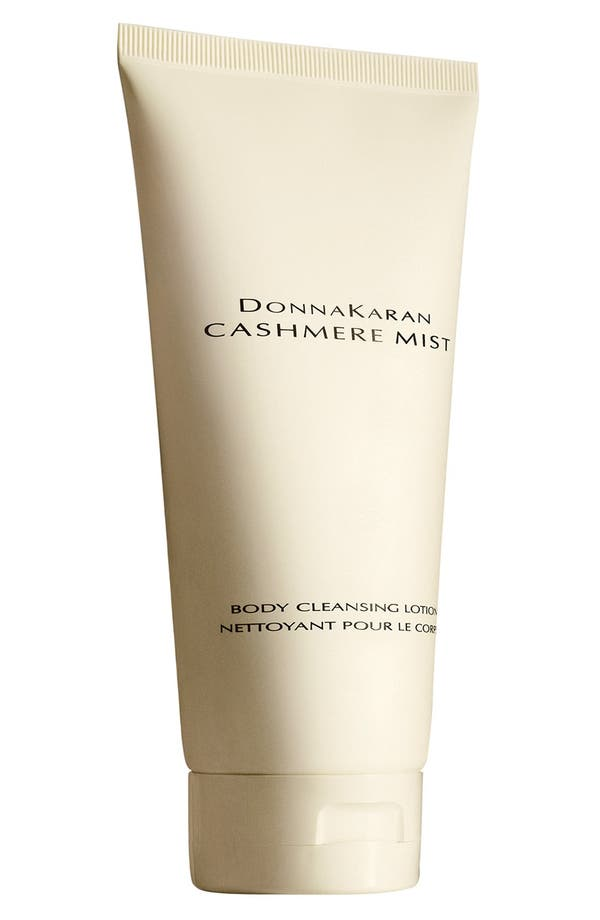 Donna Karan 'Cashmere Mist' Body Cleansing Lotion,                             Main thumbnail 1, color,                             No Color