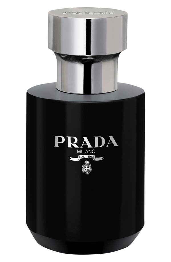 'L'Homme Prada' After Shave Balm,                             Main thumbnail 1, color,                             No Color