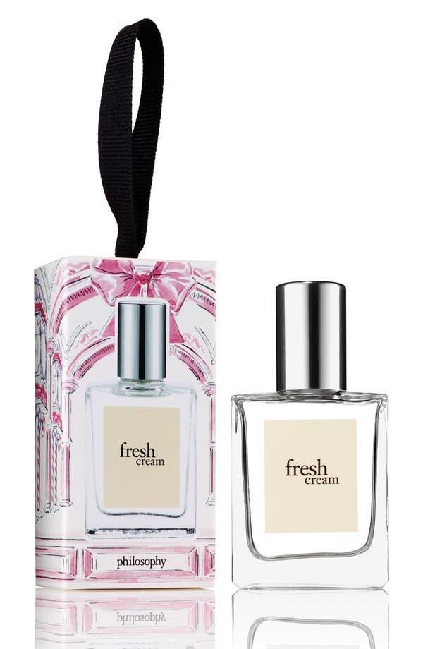 'fresh cream' fragrance ornament,                         Main,                         color, No Color