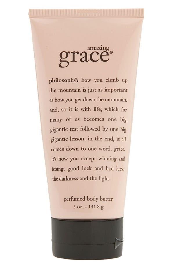'amazing grace' body butter,                         Main,                         color, No Color