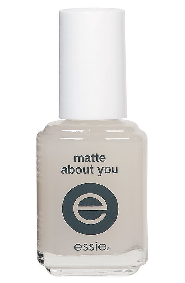 Alternate Image 1 Selected - essie® 'Matte About You' Finisher