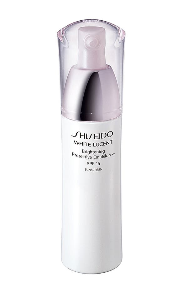 Main Image - Shiseido 'White Lucent' Brightening Protective Emulsion SPF 15