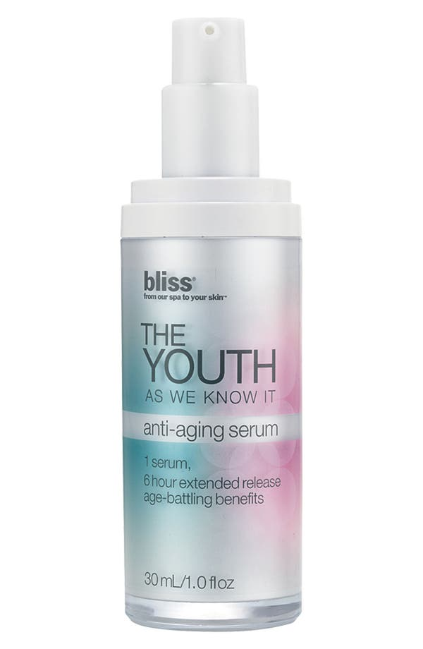 Alternate Image 1 Selected - bliss® 'The Youth As We Know It' Anti-Aging Serum