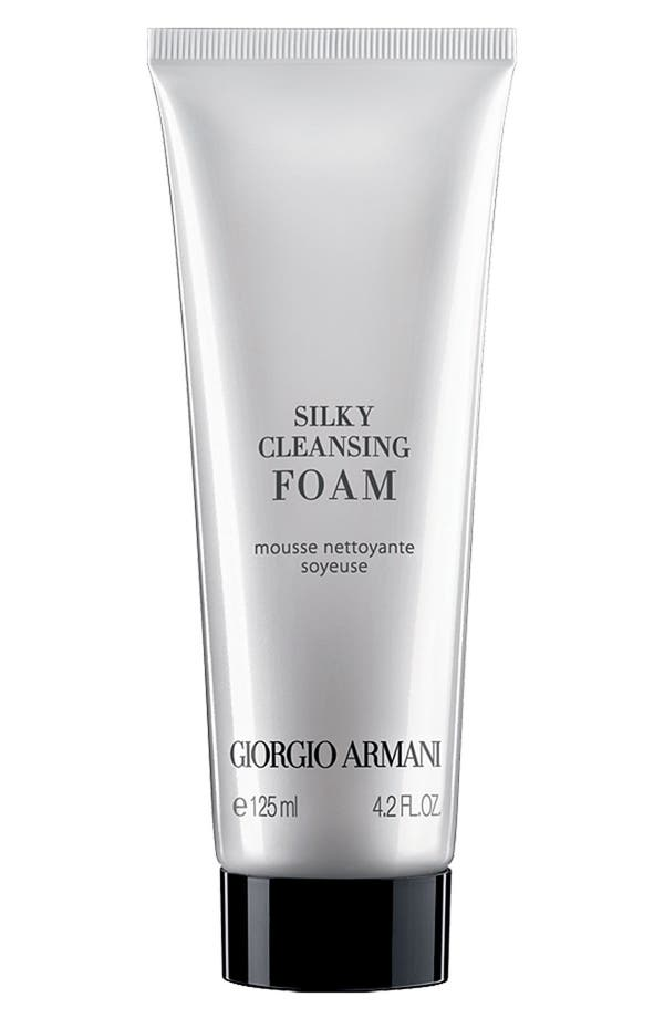 Alternate Image 1 Selected - Giorgio Armani Silky Cleansing Foam