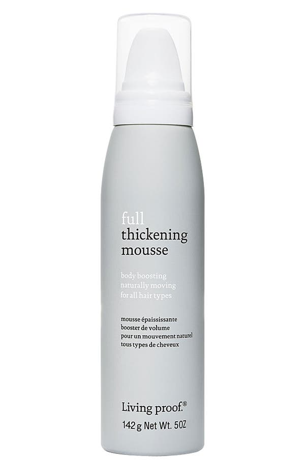Main Image - Living proof® 'Full' Body Boosting Thickening Mousse for All Hair Types