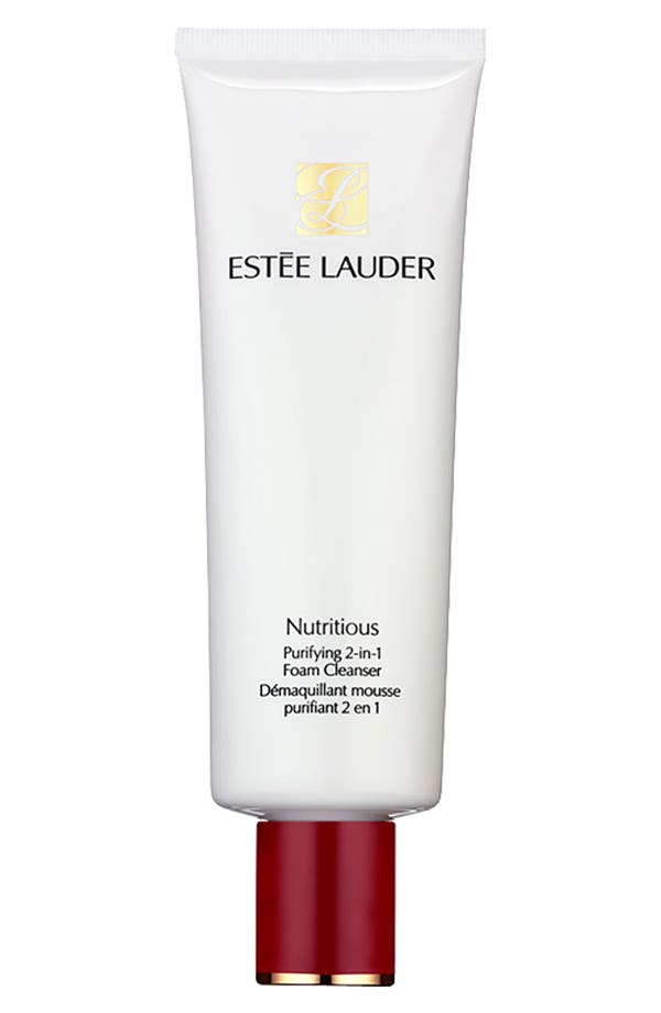 Alternate Image 1 Selected - Estée Lauder 'Nutritious' Purifying 2-in-1 Foam Cleanser (Nominee)