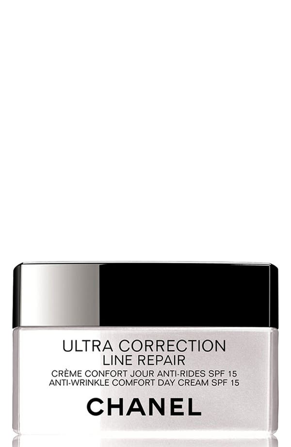 Main Image - CHANEL ULTRA CORRECTION LINE REPAIR  Anti-Wrinkle Sunscreen Day Cream Broad Spectrum SPF 15 - Comfort Texture
