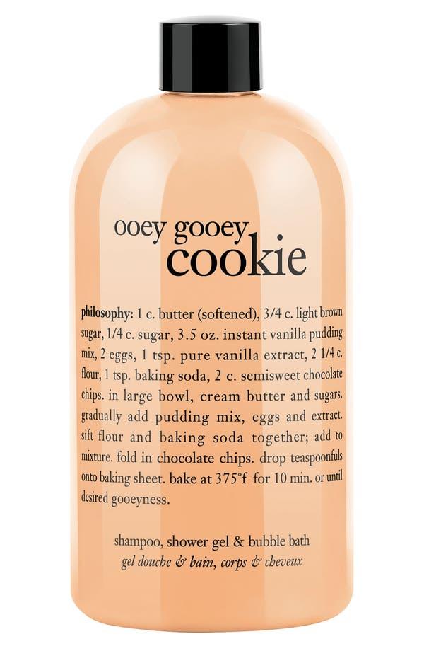 Main Image - philosophy 'ooey gooey cookie' shampoo, shower gel & bubble bath