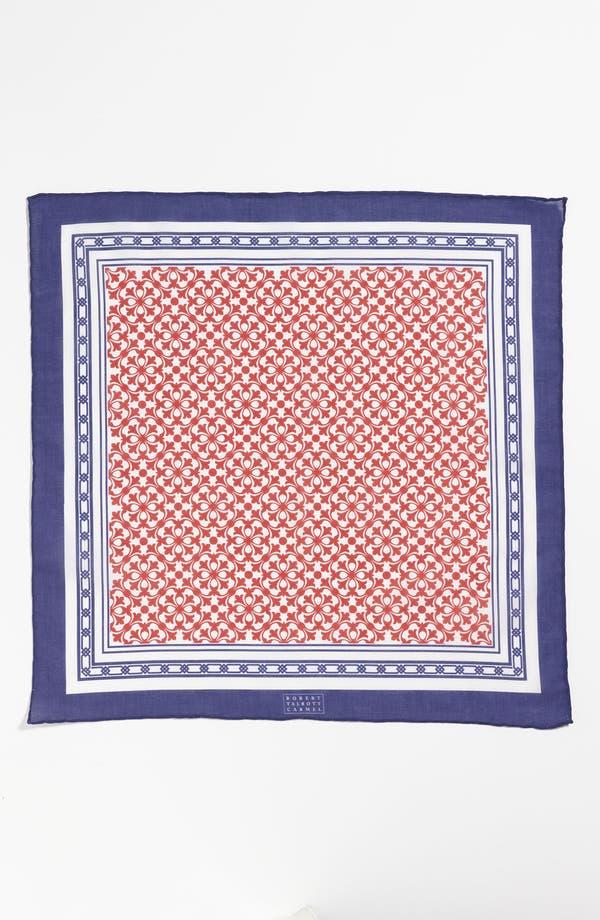 Alternate Image 2  - Robert Talbott Cotton Pocket Square