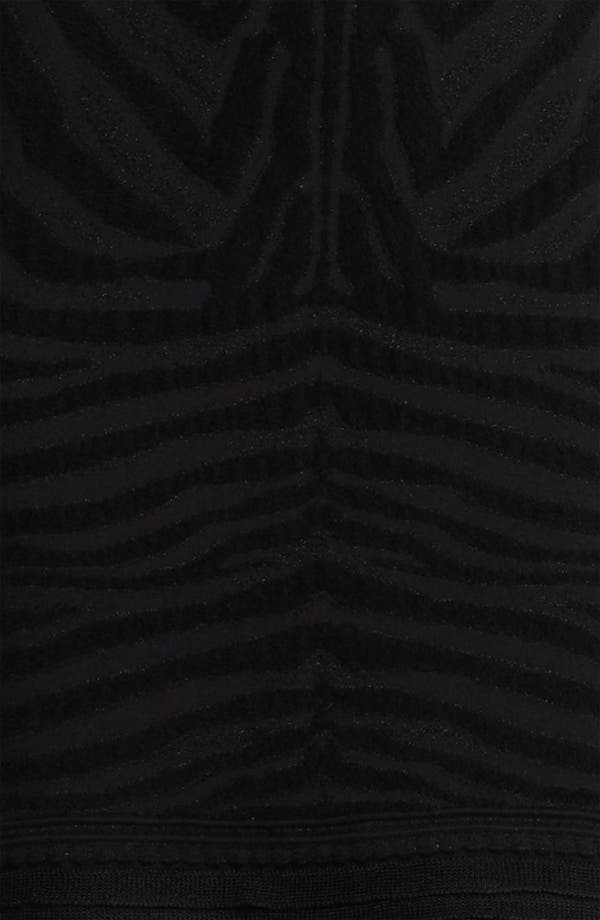 Alternate Image 3  - Roberto Cavalli Zebra Knit Dress