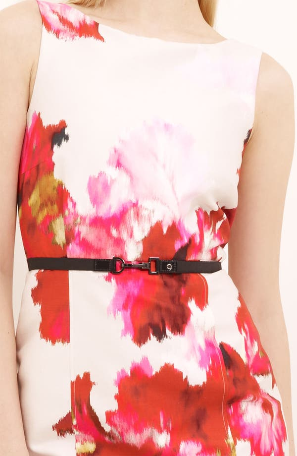 Alternate Image 3  - Max Mara 'Dimitri' Print Silk & Cotton Dress