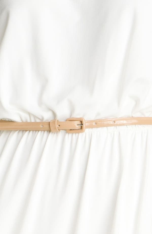 Alternate Image 3  - Maggy London Belted Matte Jersey Dress