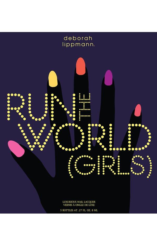 Alternate Image 3  - Deborah Lippmann 'Run the World (Girls)' Neon Mini Nail Lacquer Set