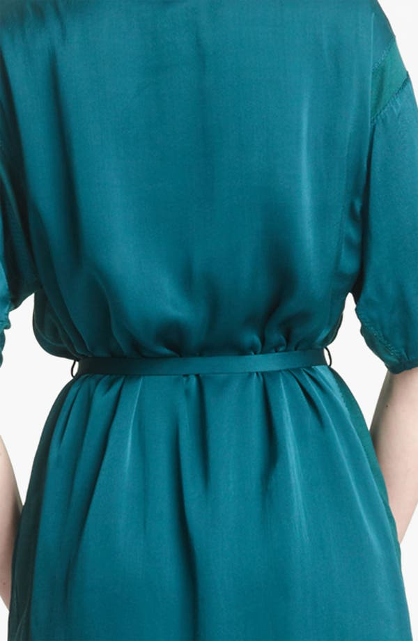 Alternate Image 3  - Lanvin Belted Washed Satin Dress