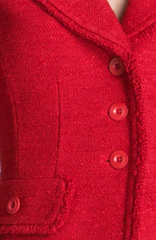 Alternate Image 3  - St. John Collection Frise Knit Jacket